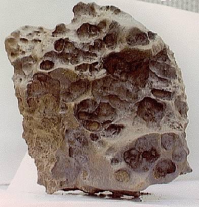 Derrick Peak, Antarctica, meteorite deep-reaching ablation features