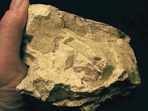 silicate impact melt rock Rubielos de la Cérida impact basin, Spain