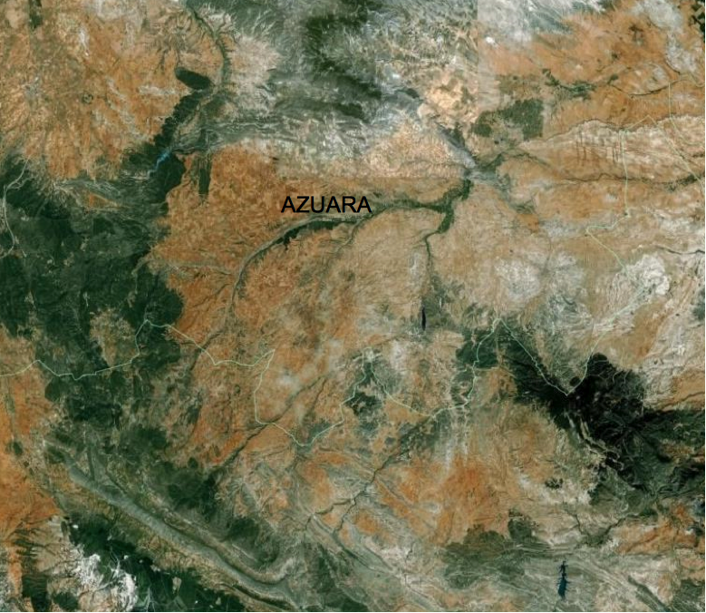 Azuara-google-earth