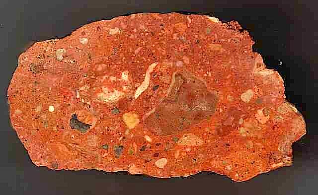 suevite basal impact breccia, Cucalón deposit, Azuara impact structure