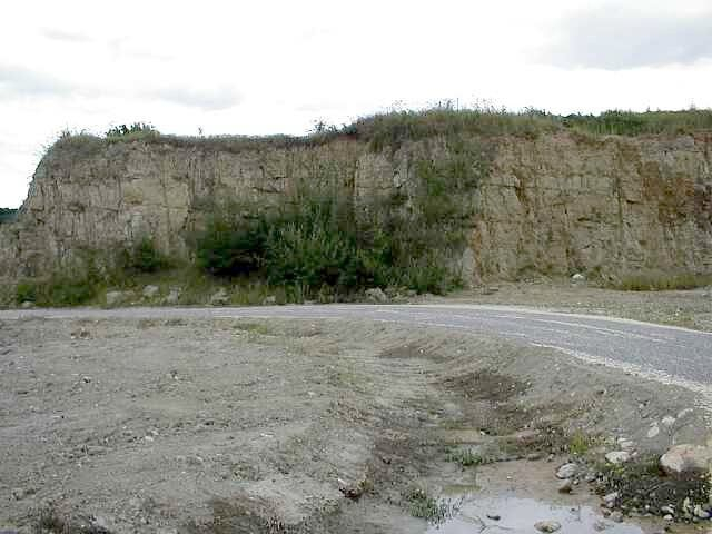 suevite quarry, Aumühle, Ries crater, Germany