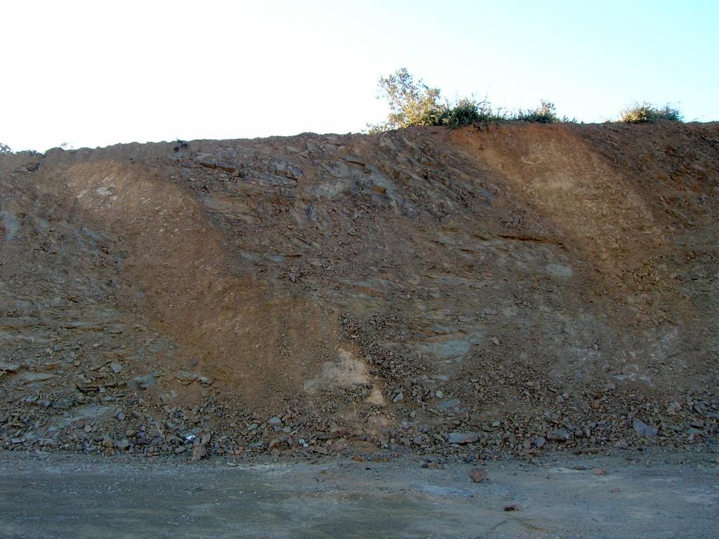 impact breccia dikes, Autovía Mudéjar, Azuara impact structure