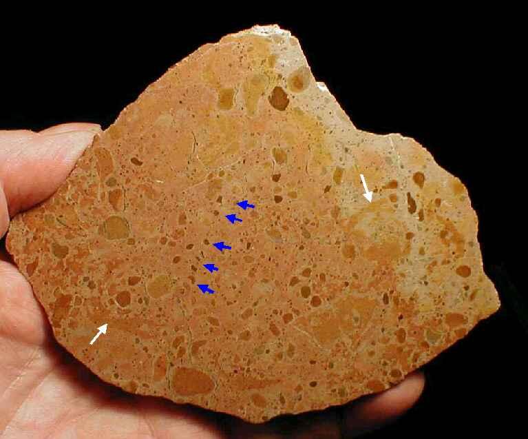 lapillistone breccia, Azuara impact structure