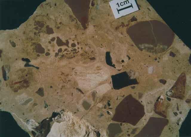 suevite, Fuendetodos variety, Azuara impact structure