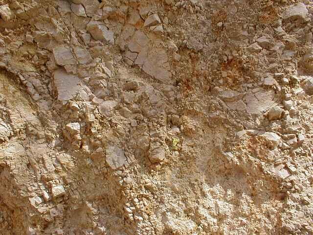 monomictic impact breccia, grit brecciation, Ries crater, Iggenhauseen