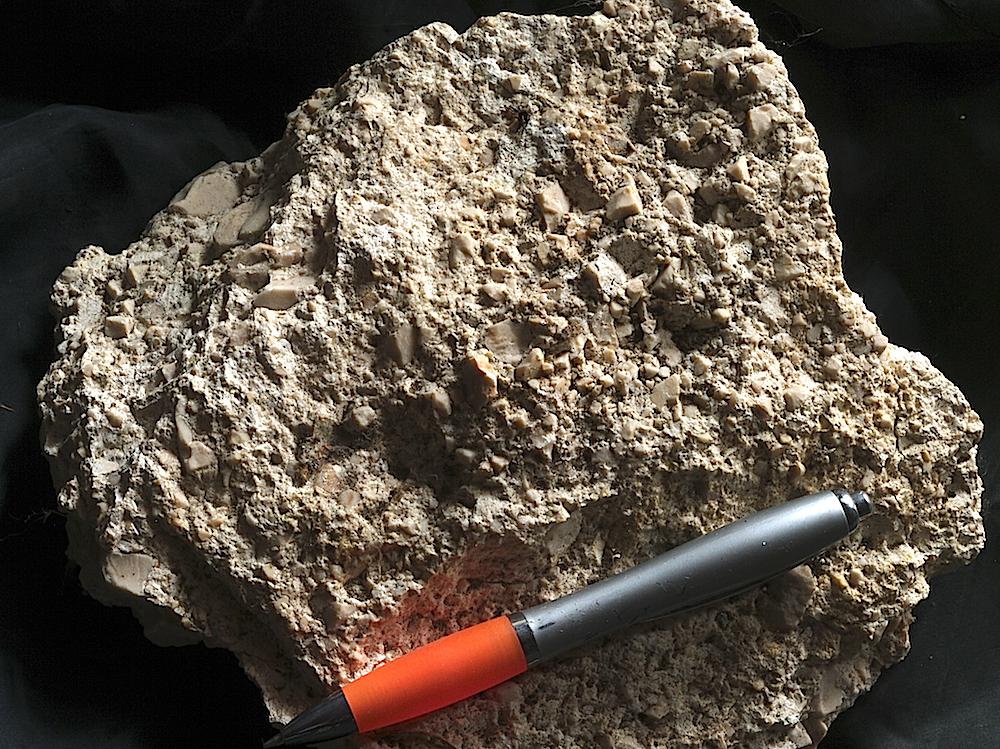 ries crater, monomictic movement breccia Iggenhausen