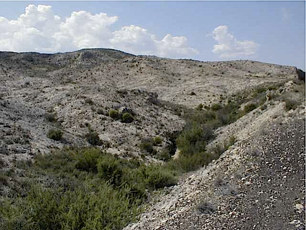 megabreccia Azuara impact structure, Almonacid de la Cuba-Belchite