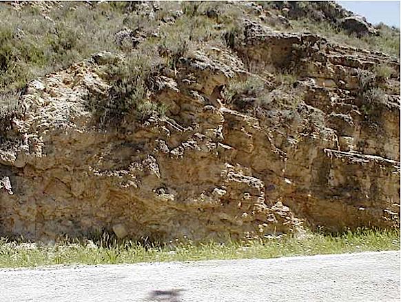 azuara impact, cortes de Tajuña formation, Blesa