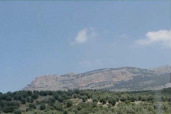 azuara impact, cortes de Tajuña formation, Betic cordillera