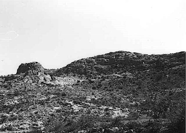 megabreccia Azuara impact structure, megaclast 2, Belchite