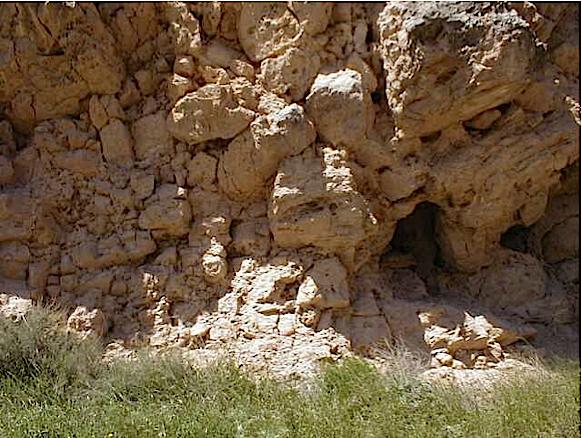 azuara impact, cortes de Tajuña formation, Moneva 5