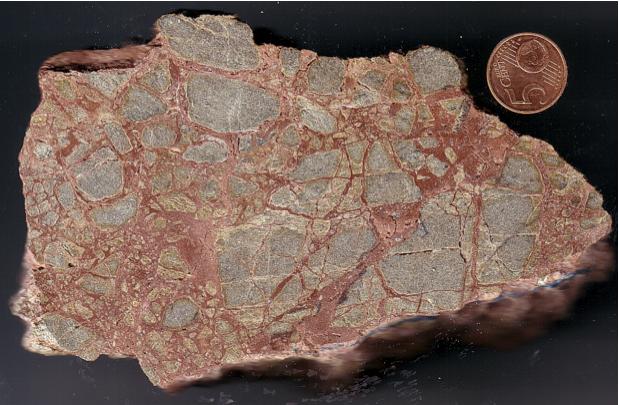 pseudo monomictic impact breccia, Herrera 2, Azuara impact structure
