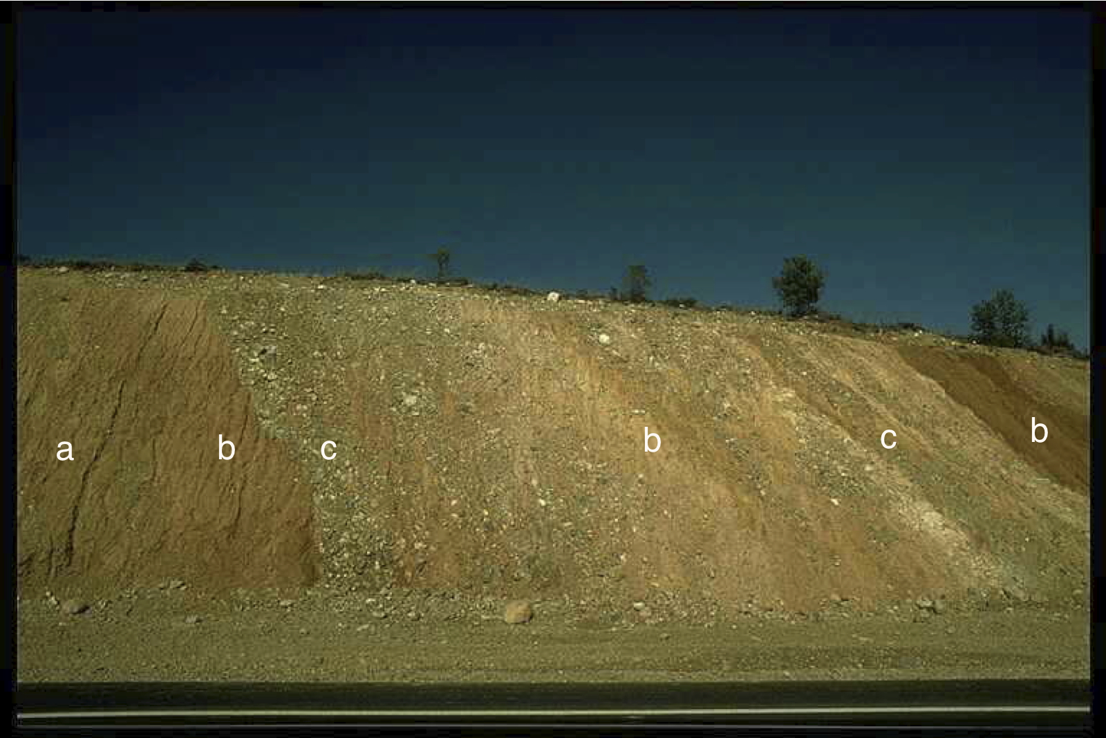outcropping diamictic impact ejecta, Puerto Mínguez, Rubielos impact