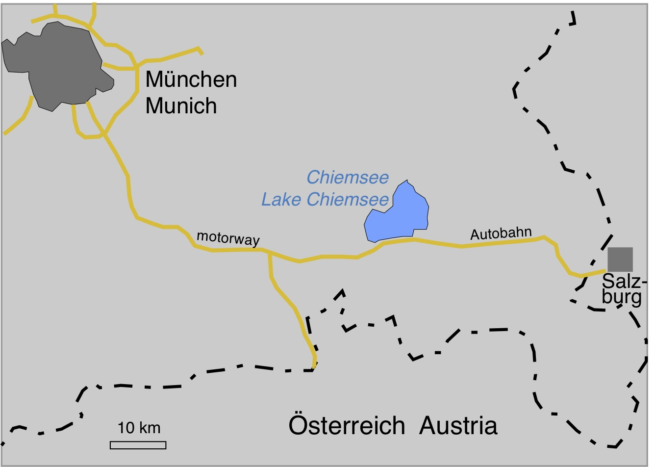 Lake Chiemsee Bavaria Chiemgau impact