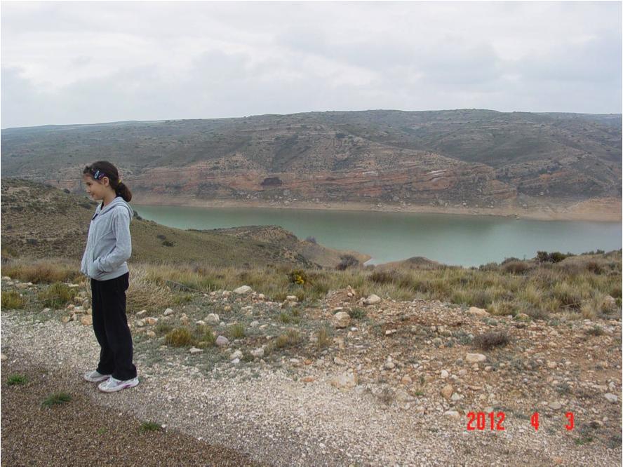 Moneva reservoir Azuara impact