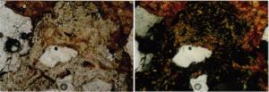 shock-melt-Azuara-impact-polymictic-breccia