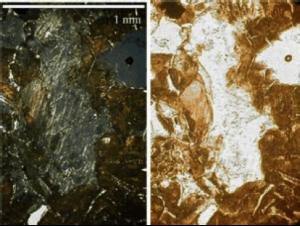 diaplectic feldspar glass Rubielos impact