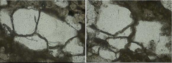 chiemgau impact glass-filled spallation fractures in quartz grains
