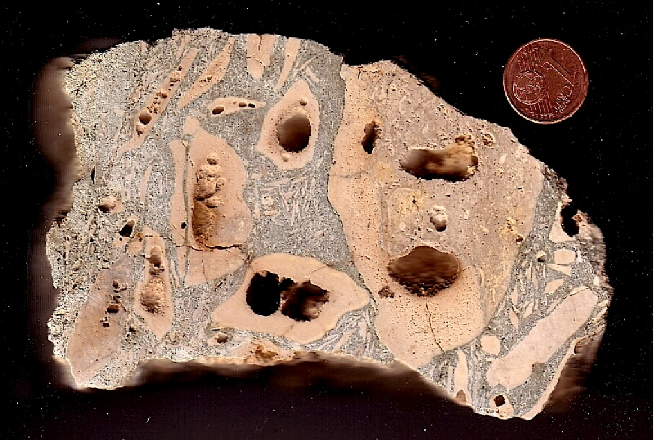 jaulín impactite Azuara impact structure hollow-cobble breccia
