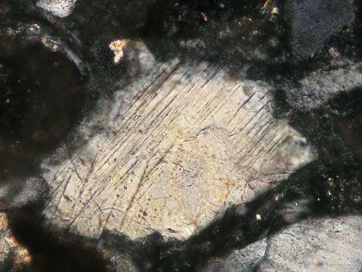planar feartures PDFs Nördlinger Ries crater