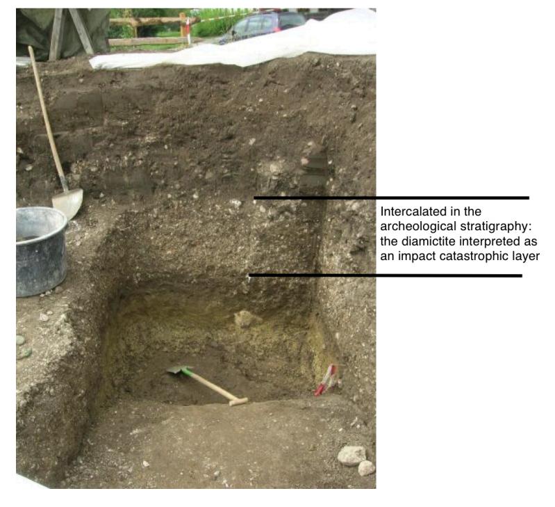 Stöttham archeological site Chiemgau impact pink quartz occurrence