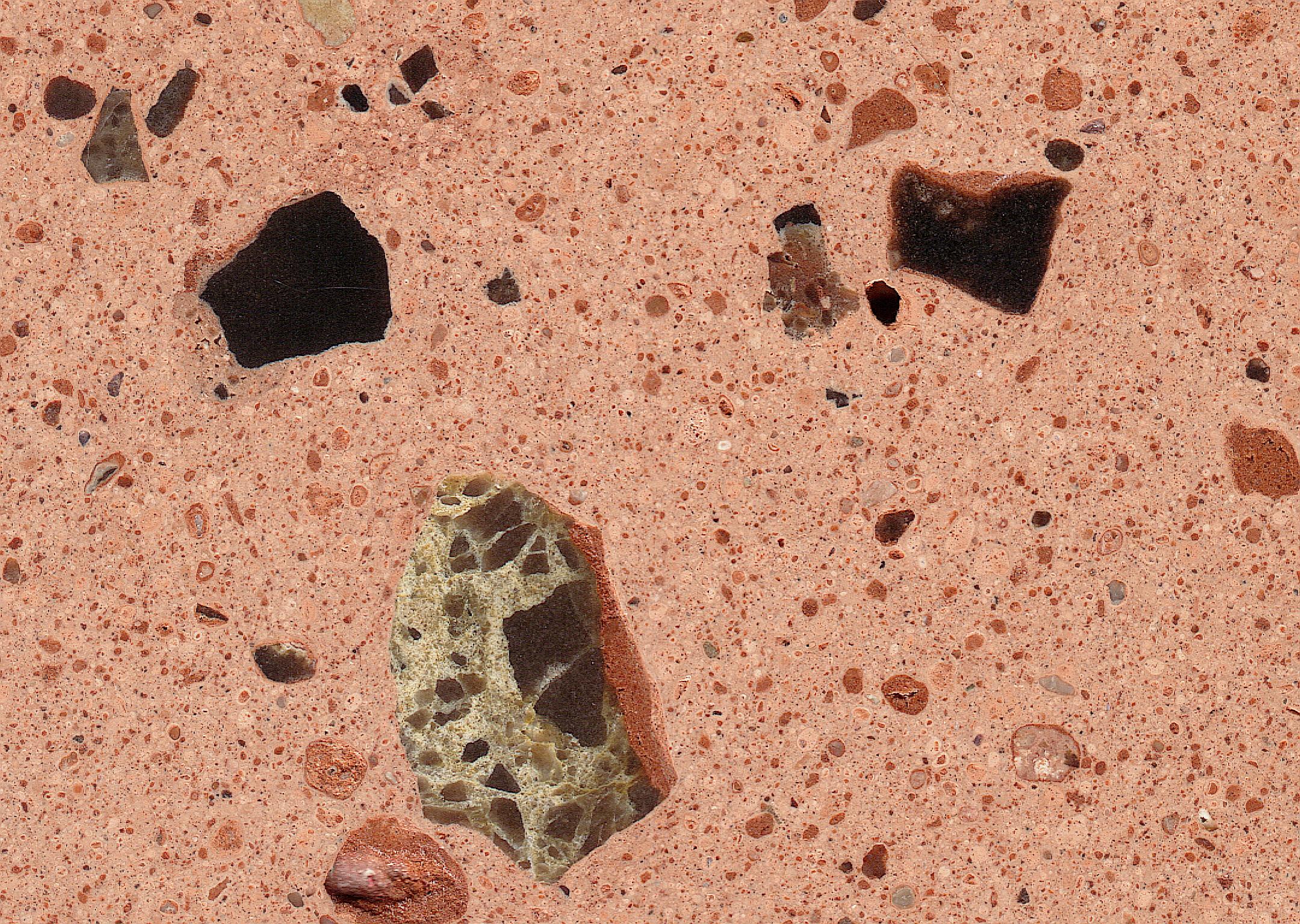 Rubielos de la Cérida impact basin - lapillistone breccia
