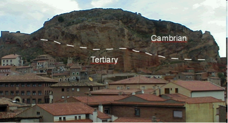 The Daroca (Spain) thrust and the Azuara impact structure