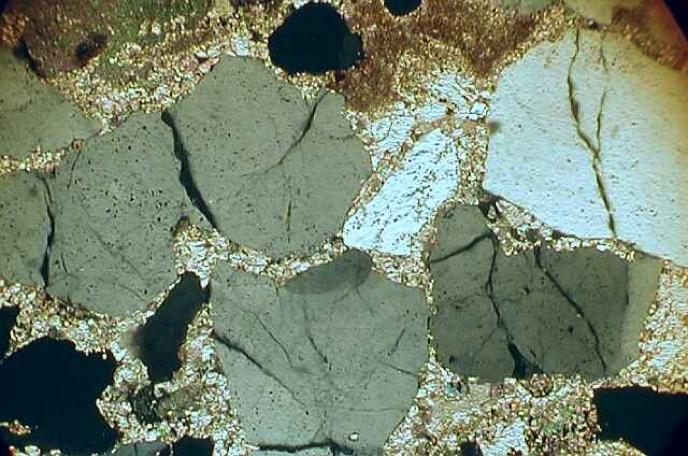 shock spallation quartz